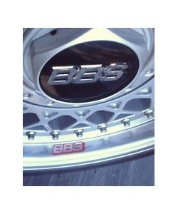 Stickers pour voiles BBS Gris foncé