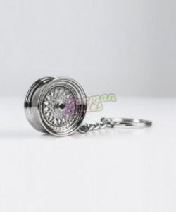 Porte clé BBS RS silver