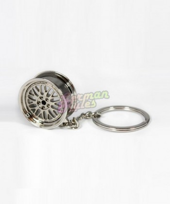 Porte clé BBS LM silver