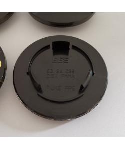 Emblème BBS 80mm 3D Noir/Or